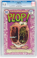 Bronze Age (1970-1979):Humor, Plop! #4 (DC, 1974) CGC NM/MT 9.8 Off-white to white pages....