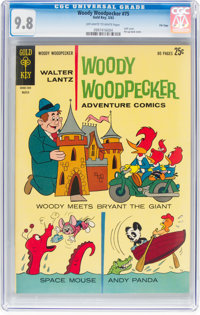 Woody Woodpecker #75 (Gold Key, 1963) CGC NM/MT 9.8 Off-white to white pages