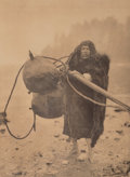 Photographs:Digital, Edward Sheriff Curtis (American, 1868-1952). The Whaler-Makah, circa 1915. Halftone, printed later. 15-3/8 x 11-1/4 inch...