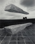 Photographs:Gelatin Silver, Jerry Uelsmann (American, b. 1934). Untitled, 1980. Gelatin silver. 19-3/8 x 15-1/2 inches (49.2 x 39.4 cm). Signed, tit...