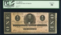 Confederate Notes:1864 Issues, T71 $1 1864 PF-9 Cr. 573 PCGS About New 50.. ...