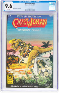 Cavewoman #1 (Basement Comics, 1993) CGC NM+ 9.6 White pages