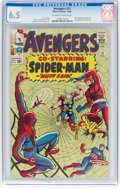 Silver Age (1956-1969):Superhero, The Avengers #11 (Marvel, 1964) CGC FN+ 6.5 Off-white to w...