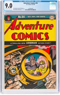 Golden Age (1938-1955):Superhero, Adventure Comics #94 (DC, 1944) CGC VF/NM 9.0 Off-white to white pages....