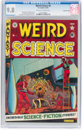 Golden Age (1938-1955):Science Fiction, Weird Science #8 Gaines File Pedigree 4/12 (EC, 1951) CGC NM/MT 9.8 Off-white to white pages....