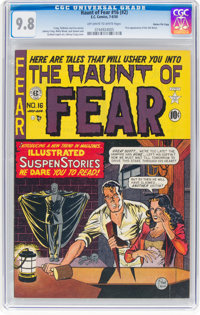 Haunt of Fear #16 (#2) Gaines File Pedigree 3/9 (EC, 1950) CGC NM/MT 9.8 Off-white to white pages