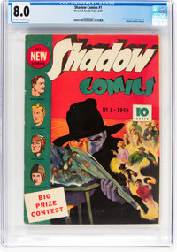 Shadow Comics #1 (Street & Smith, 1940) CGC VF 8.0 Off-white to white pages