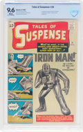 Tales of Suspense #39 Iron Man (Marvel, 1963) CBCS NM+ 9.6 White pages
