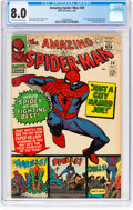 Silver Age (1956-1969):Superhero, The Amazing Spider-Man #38 (Marvel, 1966) CGC VF 8.0 Off-white towhite pages....