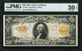 Large Size:Gold Certificates, Fr. 1187 $20 1922 Gold Certificate PMG Very Fine 30 EPQ.. ...