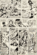 Original Comic Art:Panel Pages, John Byrne and Terry Austin X-Men #108 Story Page 2 Original Art (Marvel, 1977)....