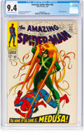 Silver Age (1956-1969):Superhero, The Amazing Spider-Man #62 (Marvel, 1968) CGC NM 9.4 Off-white towhite pages....