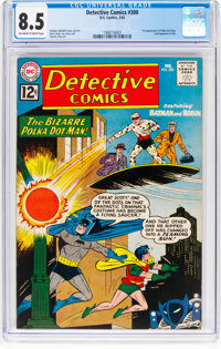 Detective Comics #300 (DC, 1962) CGC VF+ 8.5 Off-white to white pages