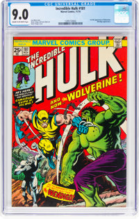 The Incredible Hulk #181 (Marvel, 1974) CGC VF/NM 9.0 Cream to off-white pages