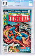 Bronze Age (1970-1979):Superhero, The Eternals #3 (Marvel, 1976) CGC NM/MT 9.8 White pages....