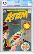 Silver Age (1956-1969):Superhero, The Atom #12 (DC, 1964) CGC VF- 7.5 Off-white to white pages....