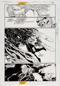 Original Comic Art:Panel Pages, Jim Calafiore and Peter Palmiotti Aquaman #39 Story Page 4 Original Art (DC, 1997)....