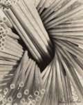 Photographs:Gelatin Silver, John Havinden (British, 1908-1987). Straws. Gelatin silver, printed later. 10 x 8 inches (25.4 x 20.3 cm). Signed in pen...