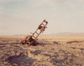 Photographs:Chromogenic, Richard Misrach (American, b. 1949). Destroyed Vehicle with Active Eagles Nest, Bravo 20 Bombing Range, 1987. Dye couple...