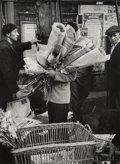 Photographs:Gelatin Silver, Thurston Hopkins (British, b. 1913). Paris, 1946. Gelatinsilver, printed later. 13-3/8 x 10 inches (34.0 x 25.4 cm). Si...