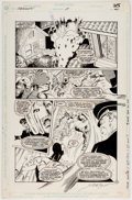 Original Comic Art:Panel Pages, Steve Erwin and Al Vey Checkmate #25 Story page 21 OriginalArt (DC, 1990)....