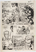 Original Comic Art:Panel Pages, Kerry Gammill and Tom Palmer Fallen Angels #1 Page 14Original Art (Marvel, 1987)....