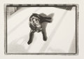 Photographs:Gelatin Silver, Jefferson Hayman (American, b. 1969). Untitled (Black Dog), 1999. Gelatin silver. 8-1/8 x 12 inches (20.6 x 30.5 cm). Si...