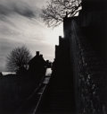 Photographs:Gelatin Silver, Michael Kenna (British/American, b. 1953). Clearing Storm, Mont st Michel, Normandy, France, 1991. Sepia toned gelatin s...