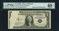 Error Notes:Obstruction Errors, Obstructed Printing Error Fr. 1614 $1 1935E Silver Certificate. PMG Extremely Fine 40 EPQ.. ...