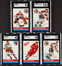 1954 Topps Hockey SGC-Graded Collection (5)