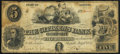 Obsoletes By State:Indiana, Gosport, IN- Citizens Bank of Gosport $5 July 1, 1857 Fine.. ...