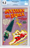 Silver Age (1956-1969):Science Fiction, Mystery in Space #83 (DC, 1963) CGC NM- 9.2 Off-white to white pages....