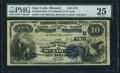 National Bank Notes:Missouri, Saint Louis, MO - $10 1882 Date Back Fr. 539 The NB of Commerce Ch.# (M)4178 PMG Very Fine 25.. ...