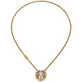 Estate Jewelry:Necklaces, Diamond, Gold Necklace, Baraka. ...