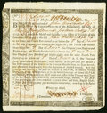 Colonial Notes:Massachusetts, Massachusetts Interest Due Treasury Certificate £34.16s December 31, 1782 Anderson MA-34 Very Fine.. ...