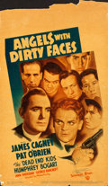 Movie Posters:Crime, Angels with Dirty Faces (Warner Brothers, 1938). Fine+.