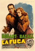 "Movie Posters:Film Noir, Dark Passage (Warner Brothers, 1948). Fine on Linen. Italian 2 - Fogli (39.25"" X 55.75"") Luigi Martinati Artwork.. ..."