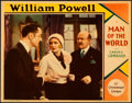 Movie Posters:Romance, Man of the World (Paramount, 1931). Very Fine+. Lo...