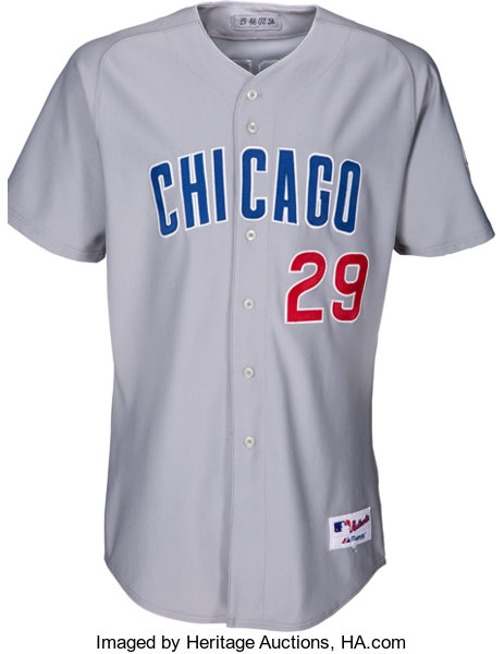 reputable site 34417 c87d0 2002 Fred McGriff Game Worn Chicago Cubs Uniform ...