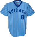 Baseball Collectibles:Uniforms, 1979 Barry Foote Game Worn Chicago Cubs Jersey. ...