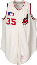Baseball Collectibles:Uniforms, 1969 Stan Williams Game Worn Cleveland Indians Jersey....