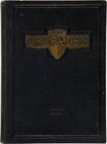Football Collectibles:Publications, 1933 Davey O'Brien Signed High School Yearbook....