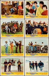 "Help! (United Artists, 1965). Fine/Very Fine. Lobby Card Set of 8 (11"" X 14""). ... (Total: 8 Items)"
