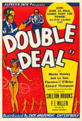 Movie Posters:Crime, Double Deal (Sack Amusement, 1939). Fine+ on Linen.