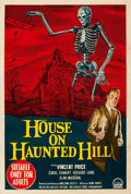 Movie Posters:Horror, House on Haunted Hill (Paramount, 1959). Laminated, Fine-....