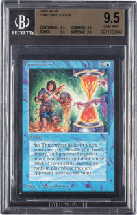 Magic: The Gathering Beta Edition Timetwister BGS 9.5 (Wizards of the Coast, 1993)