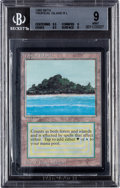 Memorabilia:Trading Cards, Magic: The Gathering Beta Edition Tropical Island BGS 9 (Wizards ofthe Coast 1993). ...