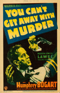 "Movie Posters:Crime, You Can't Get Away with Murder (Warner Bros. - First National, 1939). Fine+. Trimmed Linen Finish Midget Window Card (8"" X 1..."