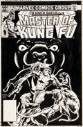 Original Comic Art:Covers, Gene Day Master of Kung Fu #113 Cover Original Art (Marvel,1982)....