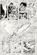 Original Comic Art:Panel Pages, Dave Cockrum X-Men #100 Story Page 17 Original Art (Marvel, 1976)....